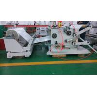 Double - Shaft Abrasive Tape / Blank Label Slitting Machine With PLC System Manufactures