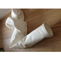 Buy cheap Stainless Steel Ring Micron Filter Bags Easy Cleaning For Cement Plant from wholesalers