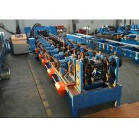Buy cheap Automatic CZ Purlin Steel Purlin Roll Forming Machine With CW Flange Punching from wholesalers