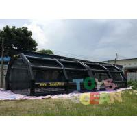 Inflatable Sport Batting Cage Baseball Tee Hitting Stations Adult Inflatable Games Manufactures