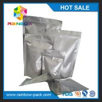 Wholesale Custom sized aluminum foil stand up ziplock bag for food/ snack storage from china suppliers