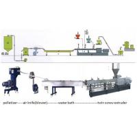 Buy cheap Recycle PA / PE / PP / ABS Plastic Granulating Machine , Granules Extruder from wholesalers