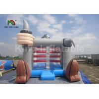 Buy cheap PVC Pirate Theme Inflatable Jumping Castle Bouncer 4 X 3m Outdoor Grey Color from wholesalers