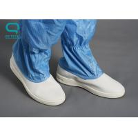 Buy cheap Washable Anti Static Footwear , Non Slip Work Boots With Static Dissipative from wholesalers