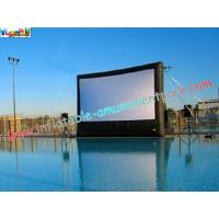 Wholesale Large Commercial Inflatable Movie Screen Rentals for outdoor & indoor projection movie use from china suppliers