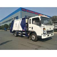 Buy cheap 5 Or 8 Tons Garbage Waste Compactor HOWO 4x2 140HP 8m³ / Collector Trucks from wholesalers