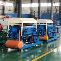 Buy cheap 30t 1500p/H 120kg/H Pulp Egg Tray Making Machine from wholesalers