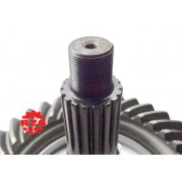 Transmission System Spiral Bevel Gear , Crown Wheel and Pinion Gear for MITSUBISHI Rear Axle Manufactures