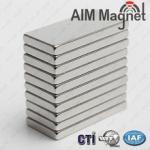 Buy cheap Rare earth 20x15x1.5 block n48 neodymium magnet from wholesalers