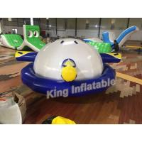 Buy cheap Durable 0.9mm PVC Airtight Inflatable Saturn Water Toy For Water Park / Water Sport from wholesalers