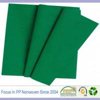 Buy cheap colorful and good quality non-woven tablecloth from wholesalers