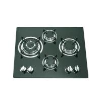 Buy cheap Glass Top 4 Burner Gas Stove Top 590x510mm With Thermocouple Type Safety Device from wholesalers