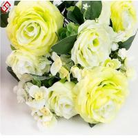Buy cheap artificial 11 head silk rose gifts home decor wedding decor flower from wholesalers