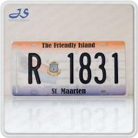 St maarten License Plate for the size:300x150mm , Material: Aluminum, Color: yellow,white and so on.