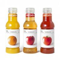 Plastic Adhesive Labels in Creative Classified Fruits Juice Bottles Manufactures