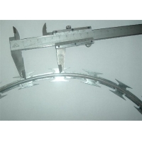 Buy cheap Stainless Steel 201 Military BTO-22 Concertina Razor Wire Fencing from wholesalers