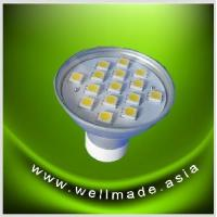 Buy cheap GU10 15SMD5050 LED Light Aluinium from wholesalers