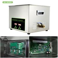 Buy cheap Digital 30l 600w Heater Ultrasonic Cleaner 1-30 Minutes Timer For Oil Metal Parts from wholesalers