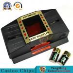 Buy cheap Poker Vip Club Custom 2 Decks Playing Cards Shoe Battery Manual Standard Cards Shuffler Factory Stock from wholesalers