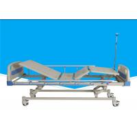 Buy cheap Manual Extra Wide Hospital Bed, Epoxy Painted Mechanical Hospital Bed from wholesalers