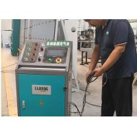 China Argon gas filling machine as ending part of simeautomatic insulating glass Line on sale
