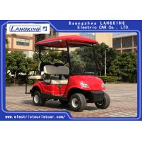 Buy cheap 4 Wheel Mini Electric Car Golf Cart With 2 Rear Seats Powered By 48V free from wholesalers