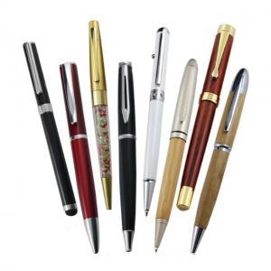 China Classical metal roller pen heavy metal brass pen with gel ink Metal Luxury Pen Office Supplies on sale