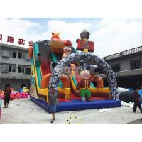 Buy cheap Giant Jumping Commercial Inflatable Slide , Pirate Ship Inflatable Dry Slide For Kids from wholesalers