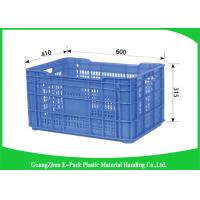 China Economic Stackable Storage Containers , Household  Plastic Stacking Crates Poultry Transport on sale