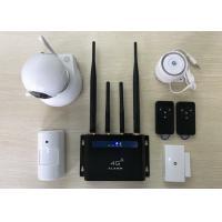 Buy cheap Wifi Camera Wireless Burglar Alarm , LTE DIY Smart Detector Home Security Alarm from wholesalers