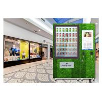 Buy cheap Automatic Self Service Fruit Vegetables Salad Vending Machine With Belt Conveyor Elevator from wholesalers