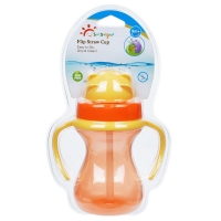 Buy cheap Double Handles BPA Free 6oz 190ml Baby Weighted Straw Cup from wholesalers