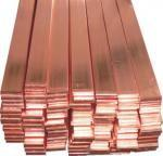 Buy cheap Copper Clad Steel Copper Flat Bar Ground Tape For Earthing 20*2mm / 25*3mm from wholesalers