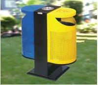 Buy cheap Non-toxic easily cleaned-up  Outside Standing  stainless Steel Garbage Bin with ISO from wholesalers