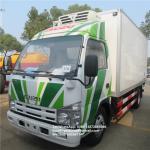 Buy cheap ISUZU 3TON refrigerator box truck 4 ton cooling van ice cream trucks refrigerated euro 5 from wholesalers