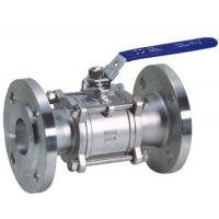 Buy cheap Flanged Stainless Steel Valves 3PC Full Bore With Flanged Clamp End from wholesalers