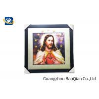Wholesale 30 X40 CM And 0.6 MM 5D Pictures For Jesus / Custom Lenticular Printing from china suppliers