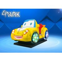 Buy cheap 2020 new fiberglass kids ride on car EPARK coin operated swing ride on machine for shopping center from wholesalers