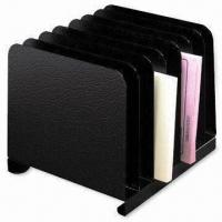 China Bookends with Powder Coating, Made of Steel Plate, Suitable for Organizing File Folders on sale