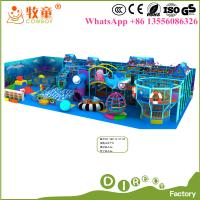 Buy cheap High quality child commercial indoor kids playground for Europe market from wholesalers
