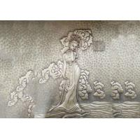 Buy cheap Fairy Bronze Relief Sculpture Ancient Style Metal Wall Art Corrosion Stability from wholesalers