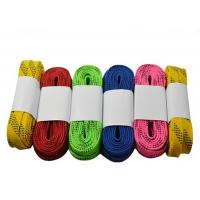 Buy cheap Heavy Duty Waxed Ice Hockey Laces Custom Package Design Tight Moulded Tips from wholesalers