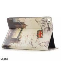 Buy cheap For iPad 6 Leather Case Classic Printing Picture, best price from wholesalers