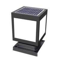 Buy cheap 4 In 1 Wall Post Lamp , Outdoor Column Solar Lawn Light For Courtyard from wholesalers