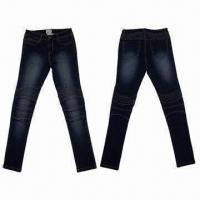 Buy cheap Fashionable Denim Pants/Jeans, Suitable for Women from wholesalers