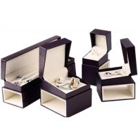 Wholesale Custom Luxury Leather Jewelry Box Velvet Inside Durable For Presentation Gift from china suppliers