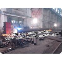 Buy cheap Pipe Profile CNC Cutting Machine With Hyperther Plasma Cource Or Flame from wholesalers