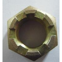 Buy cheap Hexagon Slotted Nuts DIN935 from wholesalers