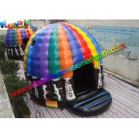 Quality Crazy Air Music Commercial Bouncy Castles For Dancing Customized for sale