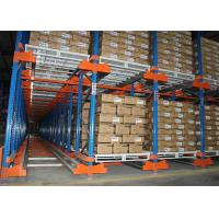 Buy cheap Semi - Automatic Radio Shuttle Racking Storage System Heavy Duty 800-5000kgs from wholesalers